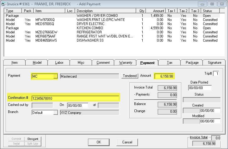 Ronin Invoice Pdf Taking A Payment On An Invoice Custom Invoice Software Word with Auto Repair Invoice Template Taking A Credit Card Payment Using Integrated Payment Processing Free Printable Invoices Pdf Excel